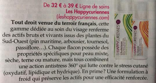 Les Happycuriennes dans Ici Paris Magzine de Mars 2017