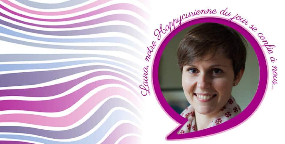Laura Choisy, fondatrice de Cohome et fidèle adepte de La Joyeuse des Happycuriennes