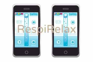 RespireRelax, une appli anti-stress