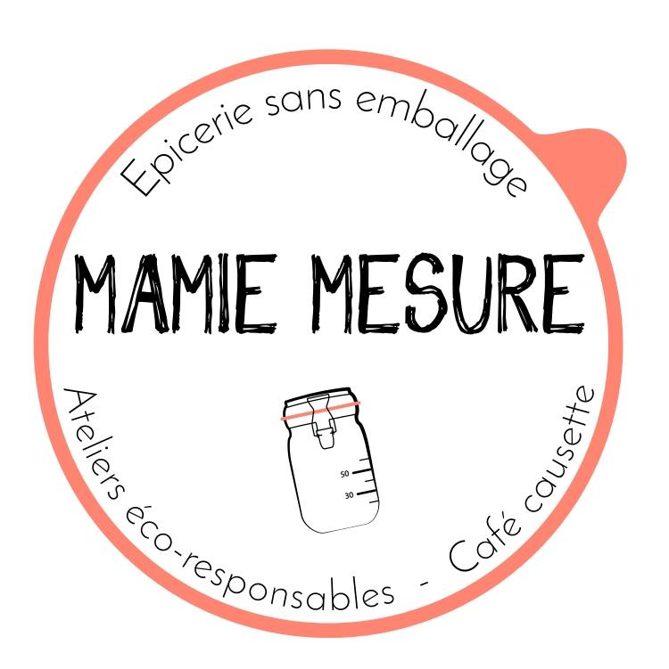 Mamie Mesure, boutique vrac qui récupère les emballages des Happycuriennes pour leur recyclage