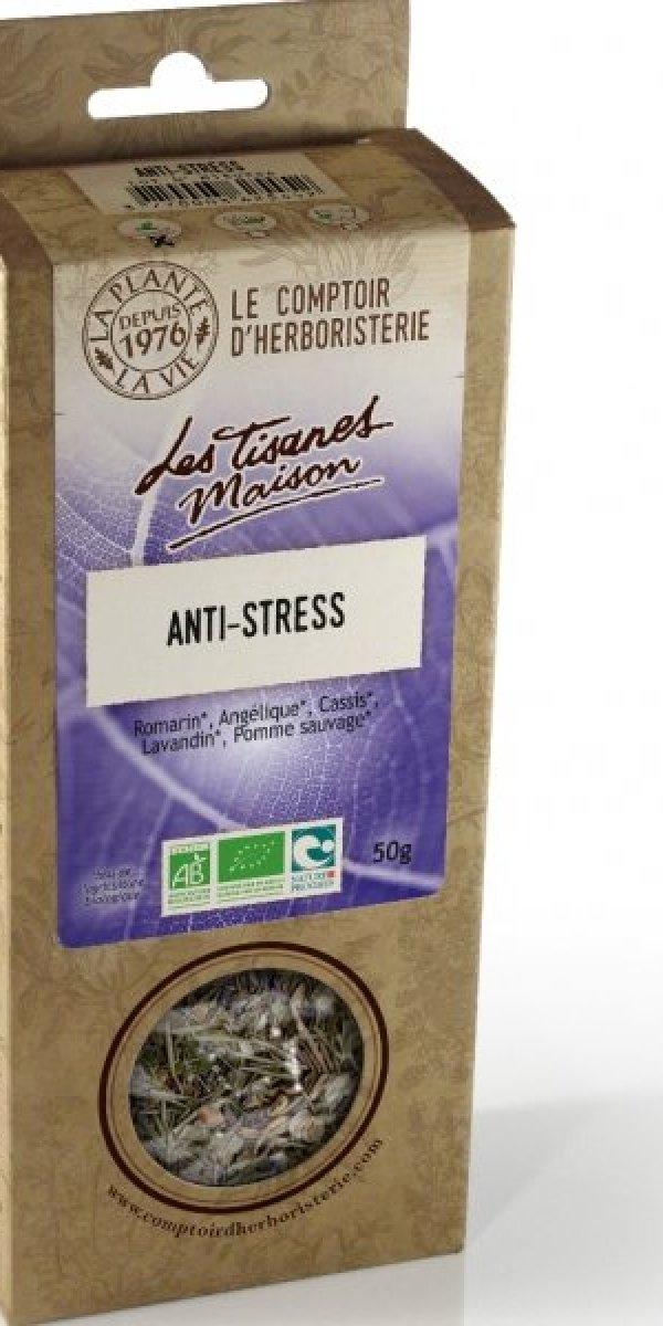 Tisane anti-stress 50g – Le Comptoir d'Herboristerie