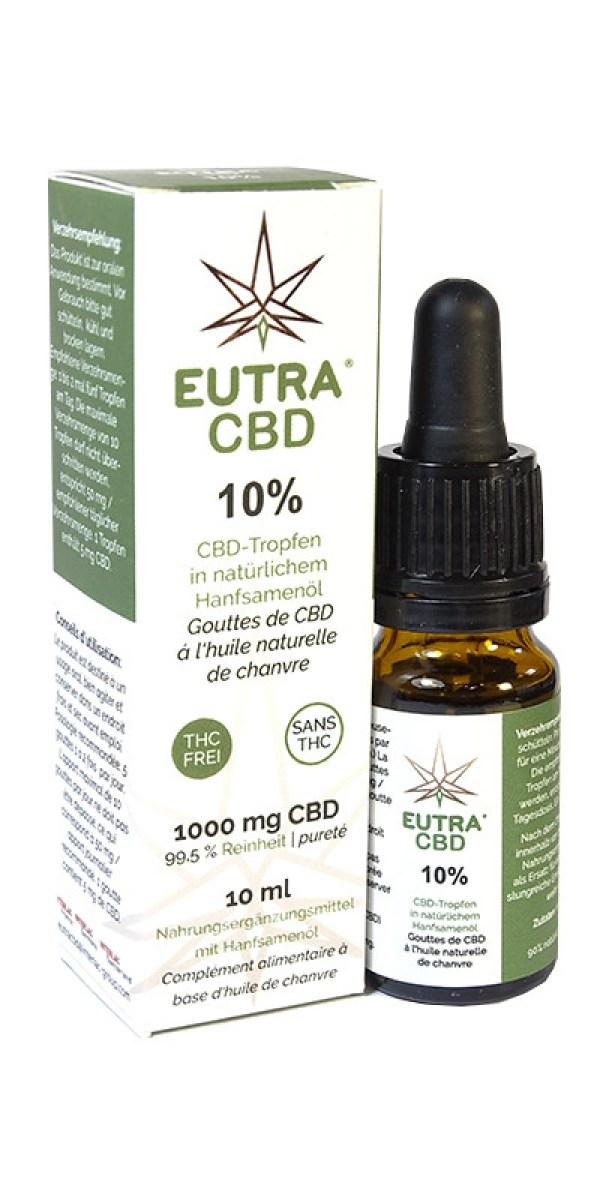 Cannabidiol 10 % Eutra CBD 10 ml – Interlac