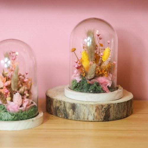 Atelier cloche en fleurs séchées Jeudi 24 Septembre