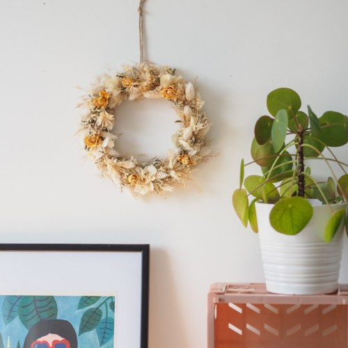 Atelier couronne de fleurs séchées Dimanche 20 Septembre