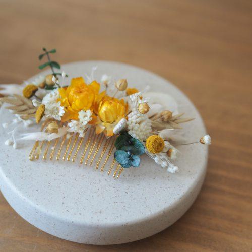 Peigne blanc safran