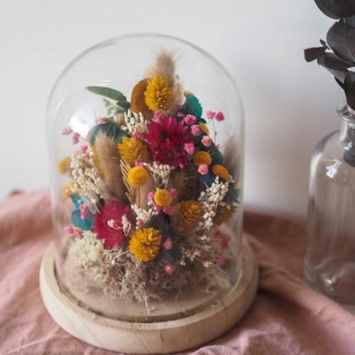 Cloche fleurie Simone
