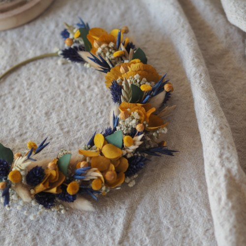Atelier demie-couronne de fleurs séchées Dimanche 21 Février / session Après-midi