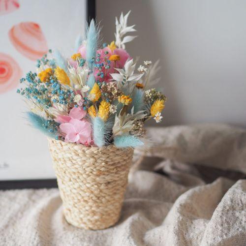 Panier fleuri Giulia (réalisé à la commande)