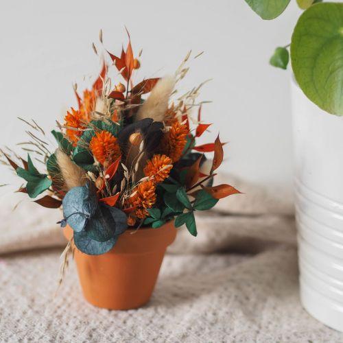 Mini pot fleuri Ombeline (réalisé à la commande)