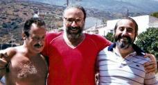 Giovanni Falcone et Borsellino à Asinara pour la préparation du Maxi-procès