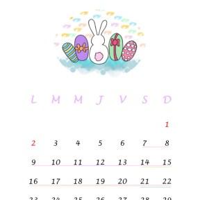 avril 18 vacances