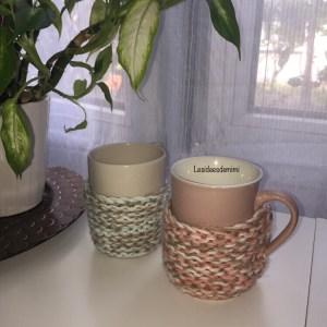 Comment fabriquer un tricot cache mug