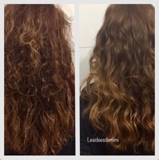 Masque nourissant cheveux