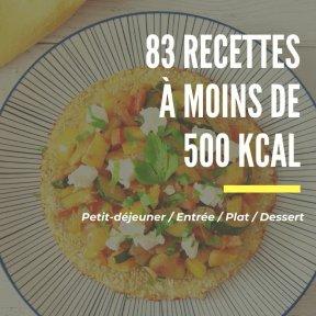 recettes à moins de 500 Kcal