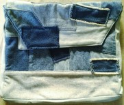 The Denim Clutch I made way back in the day . . .