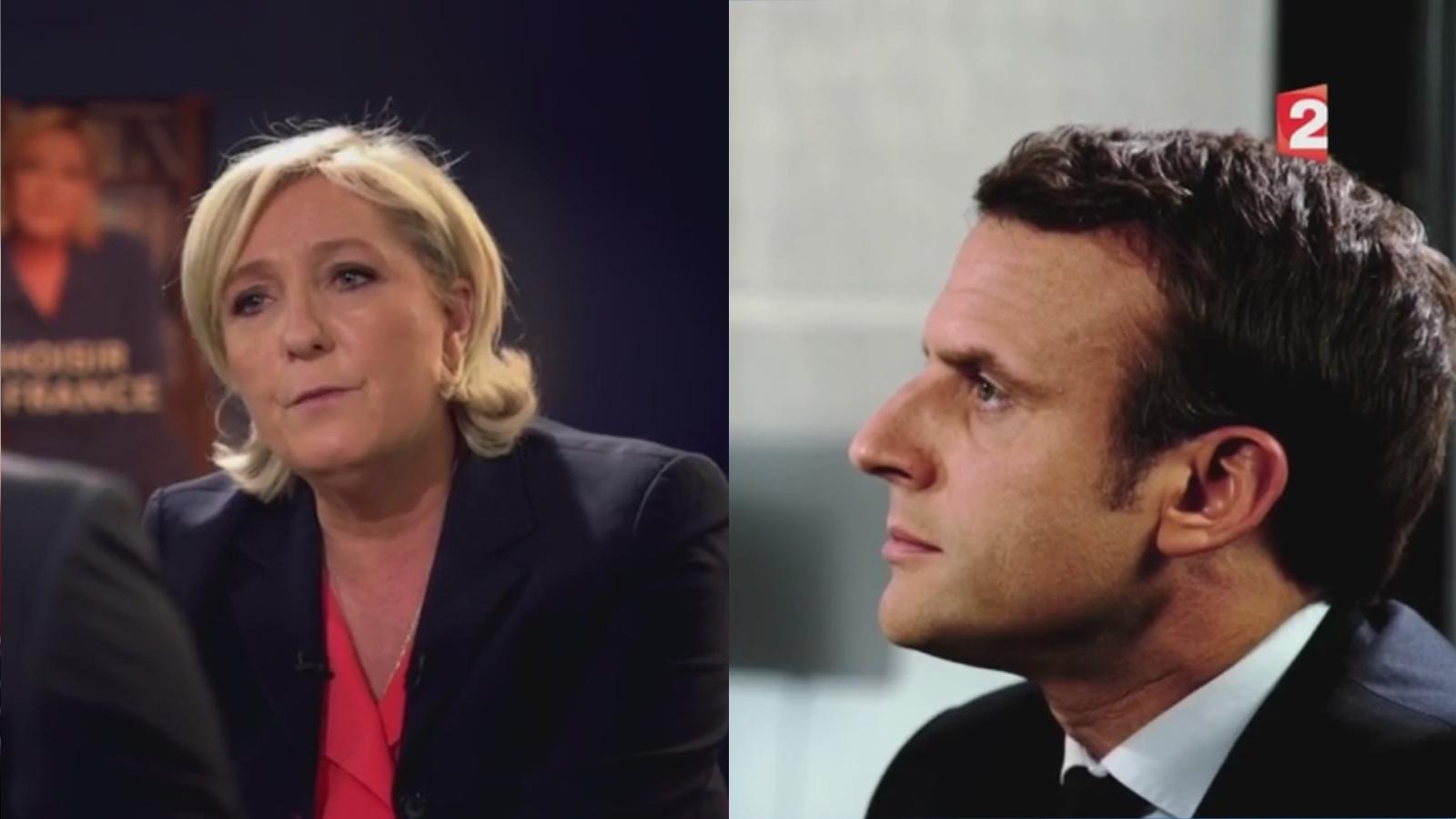L'écart entre Emmanuel Macron et Marine Le Pen se resserre