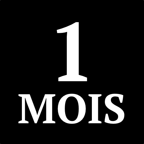 Abonnement - 1 mois