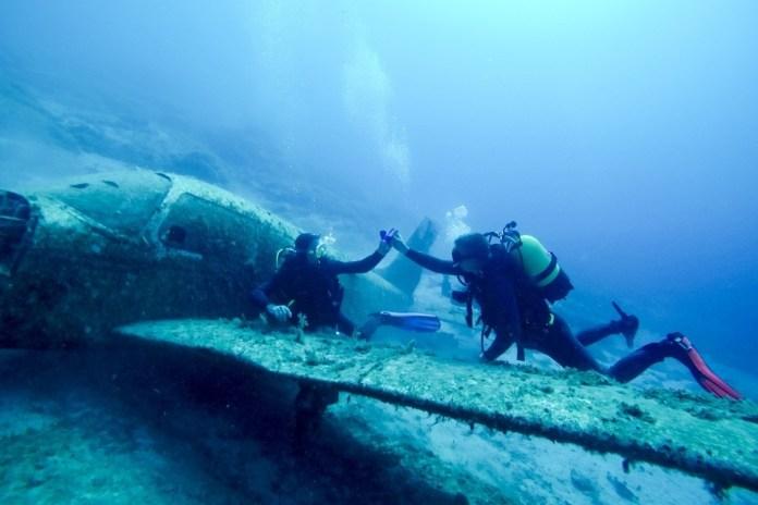 Fascinante plongée sous-marine avec Maxence dans les îles grecques
