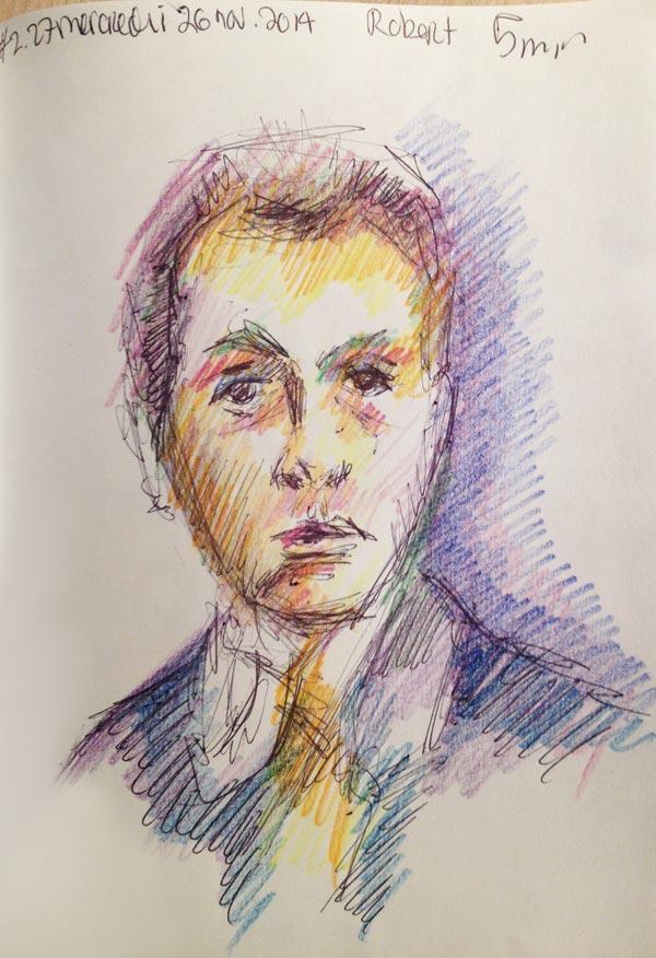 Dessin-Autoportrait-Robert-Delaunay-#27-26nov-2