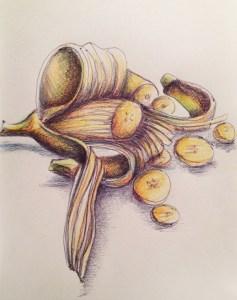 Banane-dessiner-carnet-voyage-4