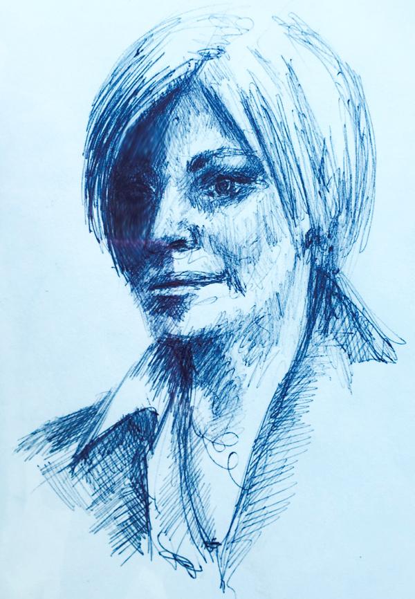 dessin-fille-tv-portrait-4