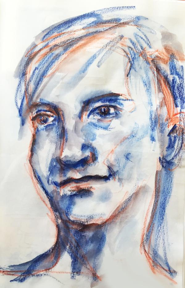 dessiner-portrait-crayons