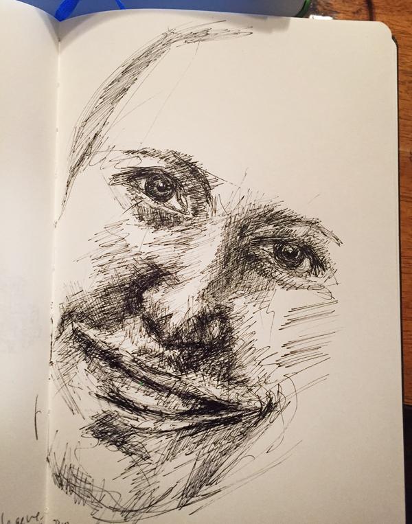 portrait-stylo-dessiner