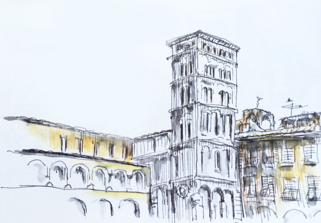 Lucca-dessiner-urban-sketcher-8l
