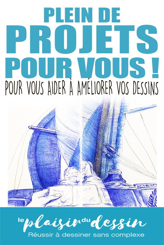 Projet-board-pinterest-dessin