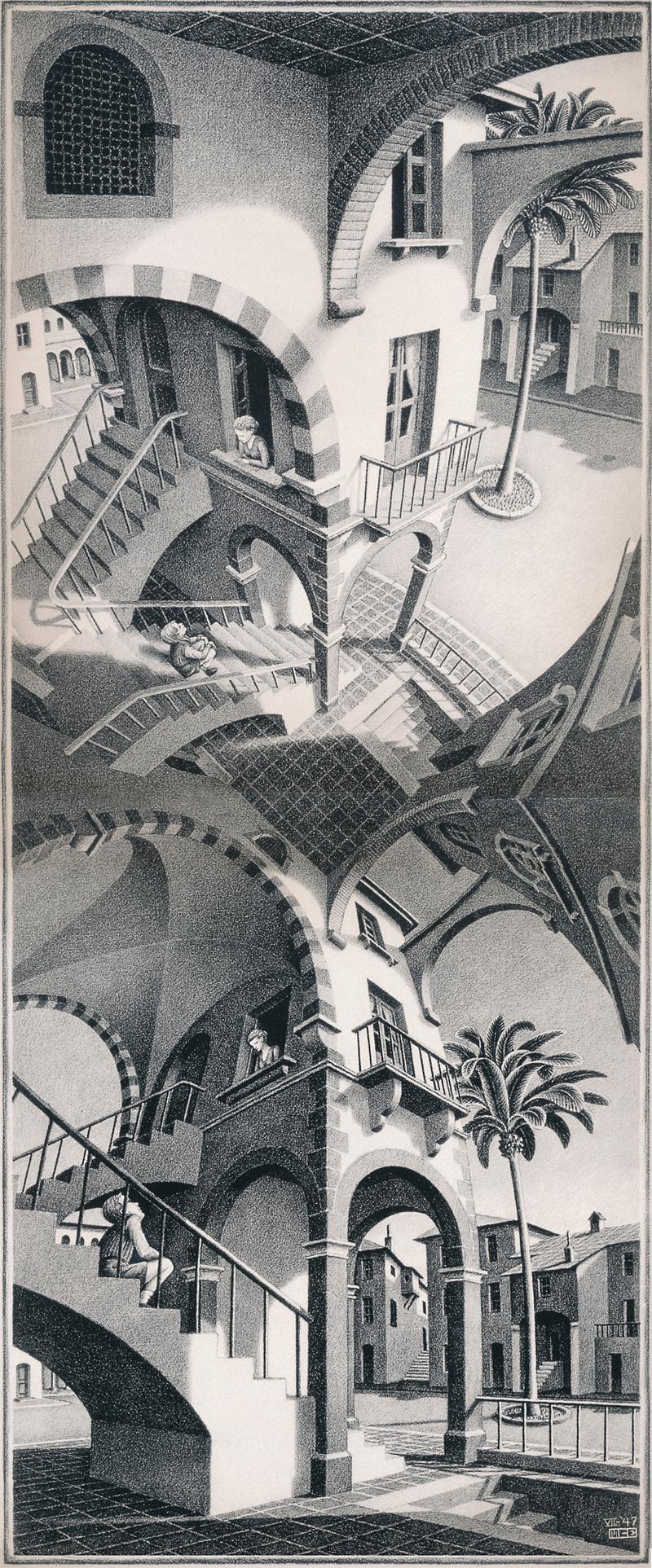Perspective Avec Escher
