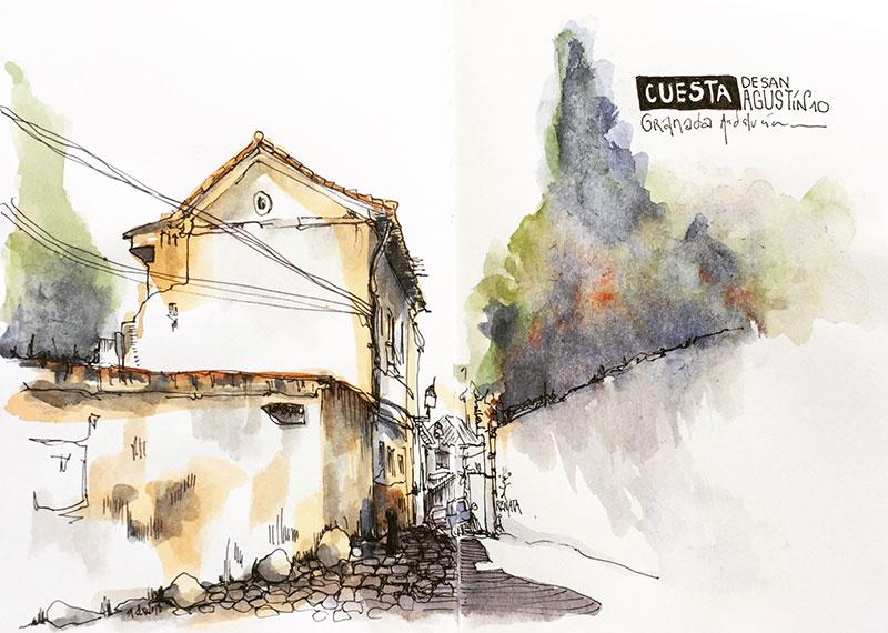 malaga-dessin-renata-urbansketch-800