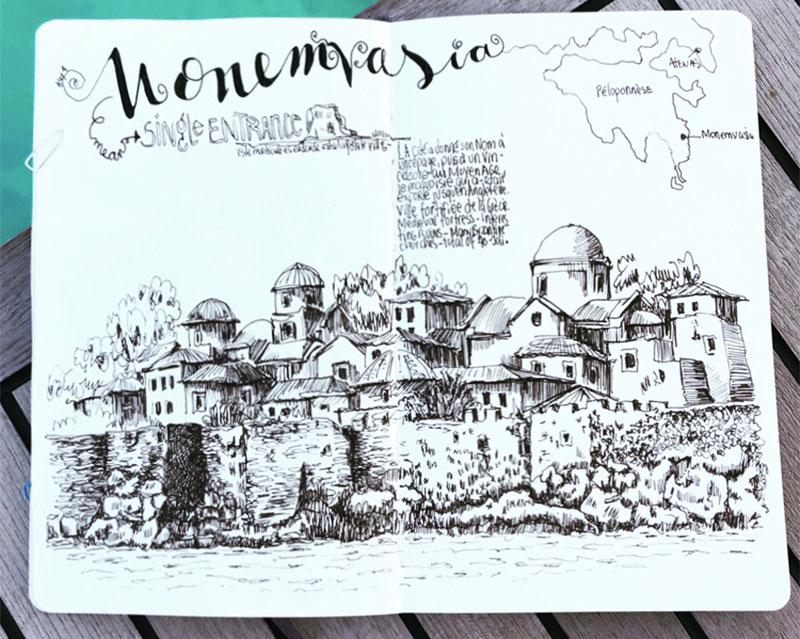 renata-grece-dessinmonemvasia