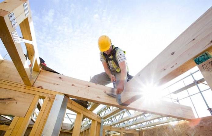 Lesena gradnja delovna mesta