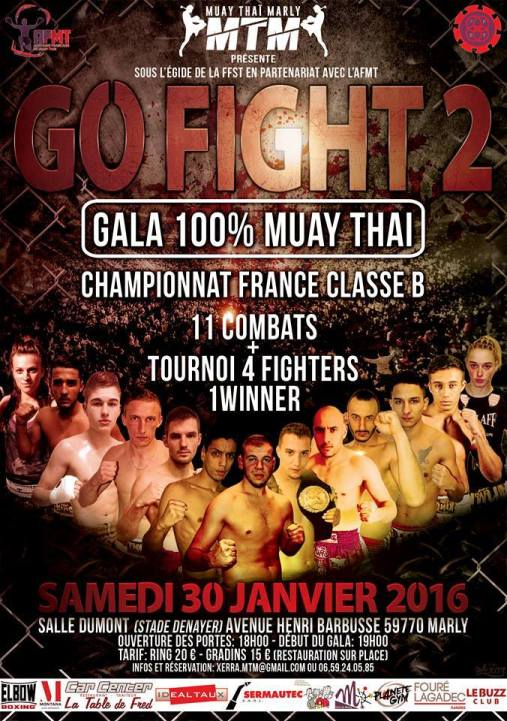 affiche Go Fight 2016