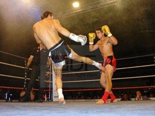 Superfight . K-1 rules . 3×3 mn Mathias BRANCHU (AJSR . 65,800kg) vs Yoann MERMOUX (team Mermoux . 66,100kg) Vainqueur : Mathias Branchu par KO3