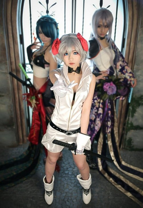 sexy vocaloid knife cosplay 01