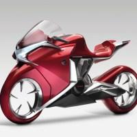 Motorcycle concept V4 par Honda.