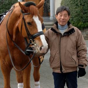 Hoketsu,le cavalier de 70 ans