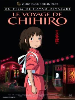 Le voyage de Chihiro, affiche.