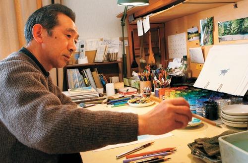 Oga Kazuo au travail