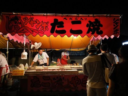 Takoyaki in festival by DT Johnson