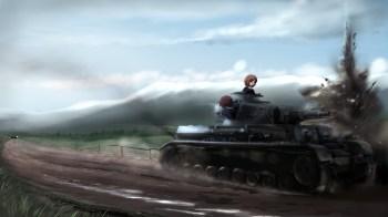 Girl und Panzer wp 4