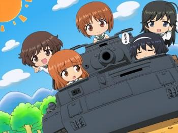 Girl und Panzer wp 5