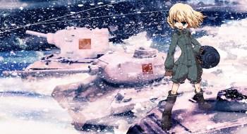 Girl und Panzer wp 10