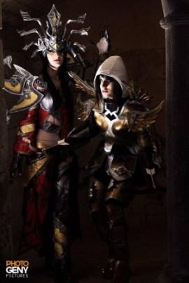Diablo cosplay, par Kashu