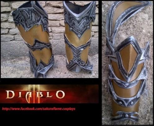 armure details
