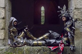Demon Hunter par Kotori Cosplay & Sorciere par Sakura Flame, Diablo 3