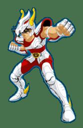 Seiya dans la série animée Saint Seiya