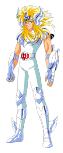 Hyoga dans la série animée Saint Seiya