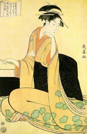 Eishosai Choki - Seiro Bijin Awase-9
